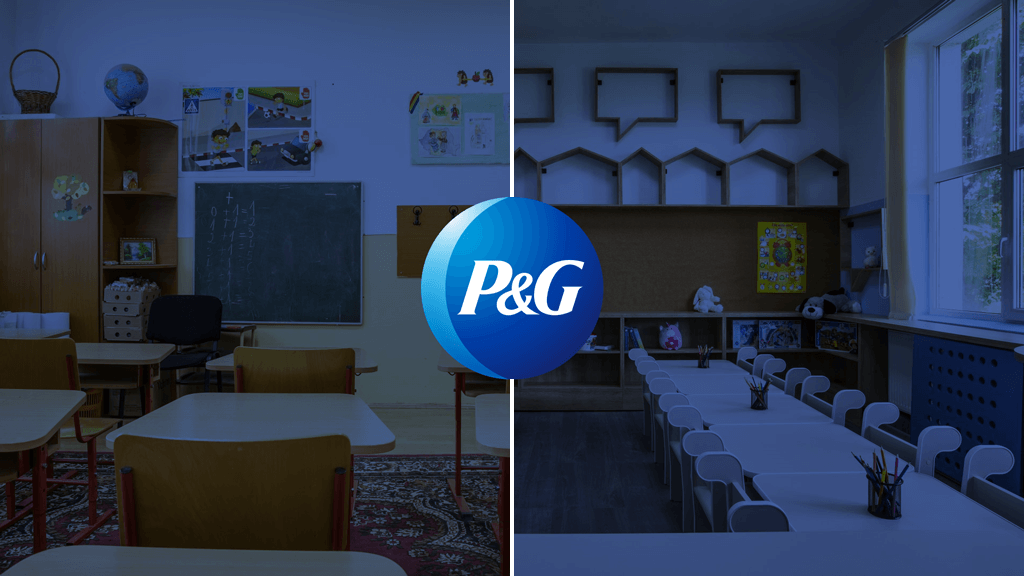 PR Award_P&G A classroom like home_cover picture_Graffiti PR